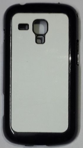 Samsung Galaxy Duos S7562 Back Cover black with Self Photo;