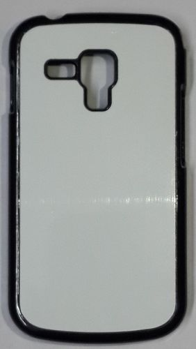 Samsung Galaxy S Duos 2 S7582 Back Cover black with Self Photo;