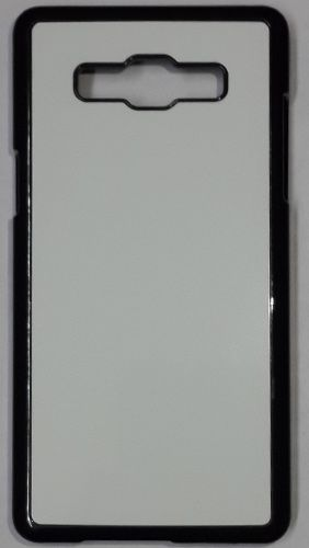 Samsung Galaxy A5 Back Cover black With Self Photo;