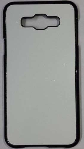 Samsung Galaxy E7 Back Cover black With Self Photo;