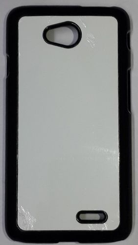 LG L70 Mobile Back Cover black With Self Photo