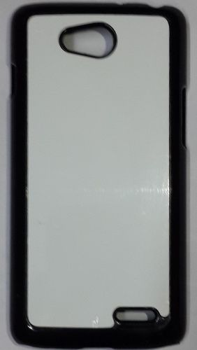 LG L90 Mobile Back Cover black With Self Photo