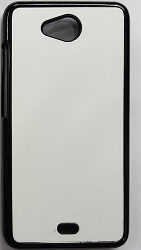 Micromax Canvas Play Self Printed Back Cover Black Color;