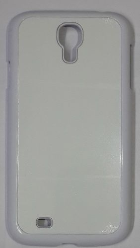 Samsung Galaxy S4 Back Cover white With Self Photo;