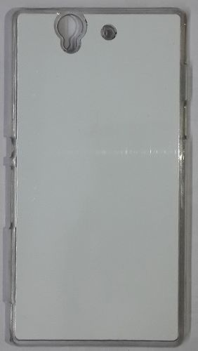 Sony Xperia Z Back Cover transparent With Self Photo;