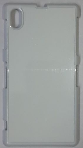 Sony Xperia Z1 Back Cover white With Self Photo;
