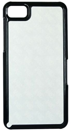 Blackberry z10 Back Cover black with Self Photo;