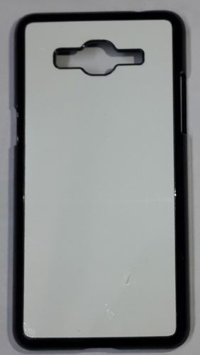 Samsung Galaxy Grand Prime Back Cover black With Self Photo;