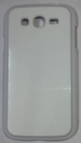 Samsung Galaxy Grand Back Cover white With Self Photo;