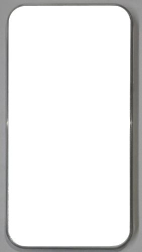 Apple iPhone 4S back Cover white With Self Photo ;