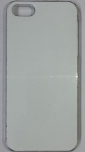 iPhone 5S White back Cover With Self Photo ;