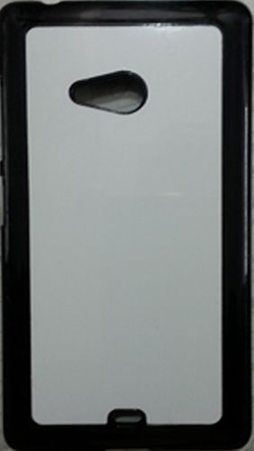 Nokia Lumia 540 Back Cover black with Self Photo;