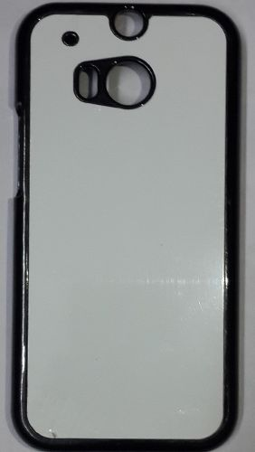 HTC Desire M8 Back Cover black With Self Photo;