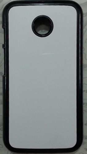 Moto E Mobile Back Cover black With Self Photo;
