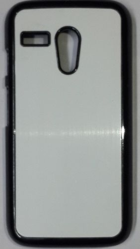 Moto G Mobile Back Cover black With Self Photo;