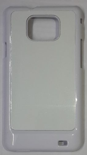 Samsung Galaxy S2 White Back Cover With Self Photo;
