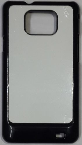 Samsung Galaxy S2 Back Cover black With Self Photo;