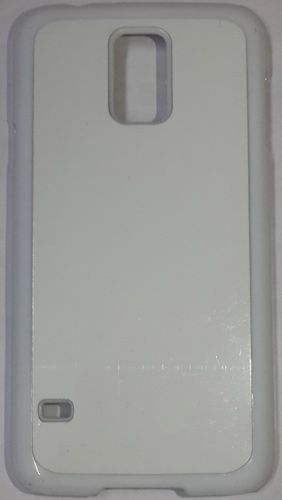 Samsung Galaxy S5 Back Cover white With Self Photo;
