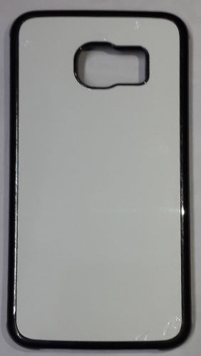 Samsung Galaxy S6 Edge back Cover black With Self Photo;