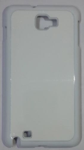 Samsung Galaxy Note 1 Back Cover white With Self Photo;