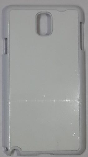 Samsung Galaxy Note 3 Back Cover white With Self Photo;