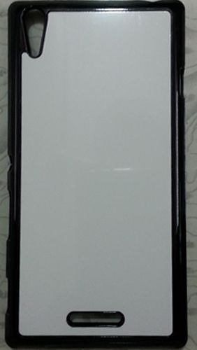 Sony Xperia T3 Mobile Back Cover black With Self Photo;