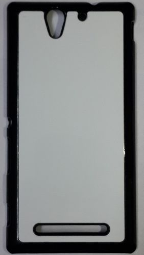 Sony Xperia C3 Back Cover black With Self Photo;