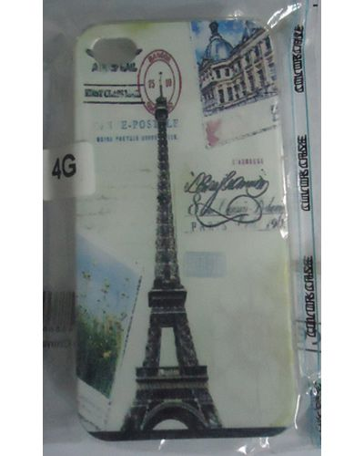 iphone 4G Eifell Tower Design Back Cover