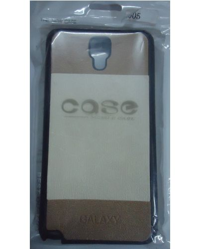 Samsung Galaxy Note-3 Neo n7505 White And Brown Stylish Back Covers