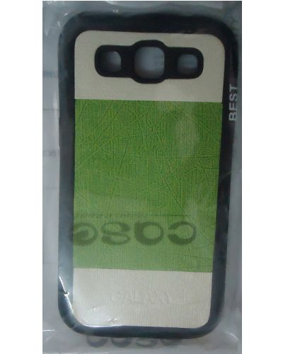 Samsung Galaxy Grand Quattro I8552 Green And White Mixed Back Covers