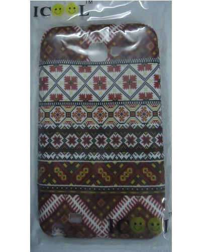 BlackBerry Curve 9220 Tribal Pattern Designed Back Cover