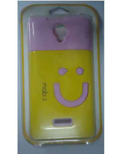 Smiley Back Cover for Micromax Canvas Fun A76