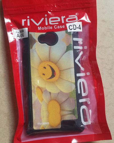 Karbonn A 06 Designer Cute Smiley Sunflower Print Back Cover Case