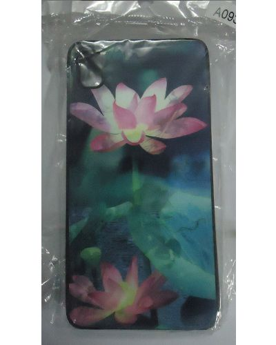 Micromax Canvas Fire A093 Lotus Print Back Cover