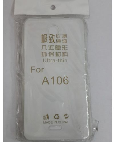 Micromax A106 TRANSPARENT SILICON SOFT RUBBER BACK COVER