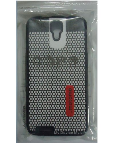 Micromax Canvas Juice A177 White Dot Pattern Back Cover