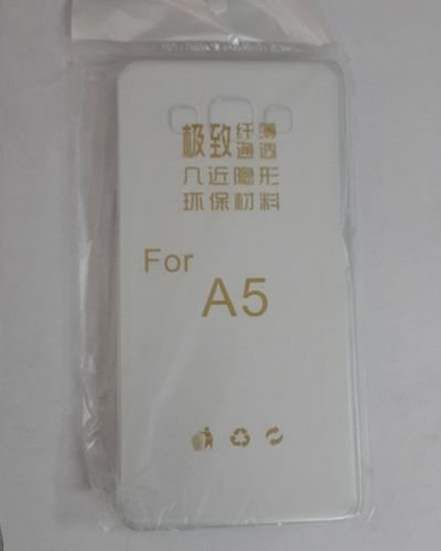 Samsung Galaxy A5 TRANSPARENT SILICON SOFT RUBBER BACK COVER