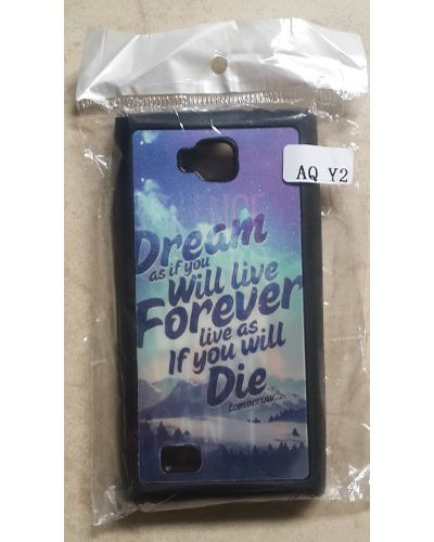 Intex Aqua 3G Plus Designer Saying And Quotes Series Back Case Cover