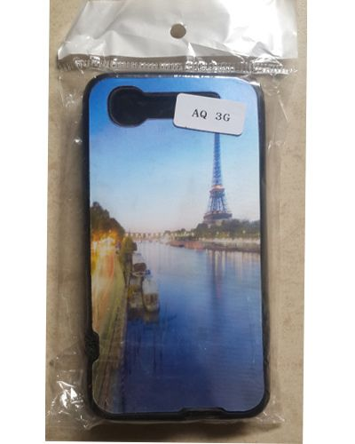 Intex Aqua 3G Designer Beautiful Scenery With Eiffel Tower Back Case Cover
