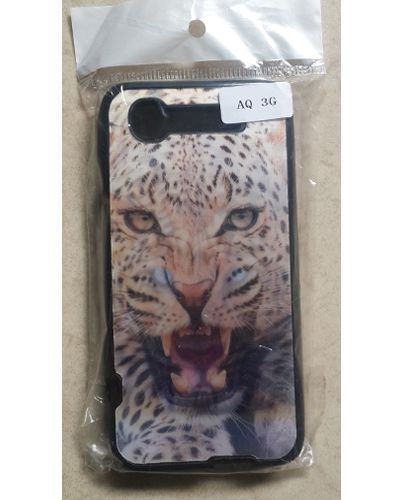Intex Aqua 3G Designer Roaring leopard 3D Back Case Cover