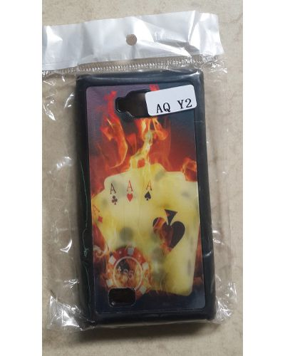 Intex Aqua Y2 Fire Poker Print  Back Case Cover