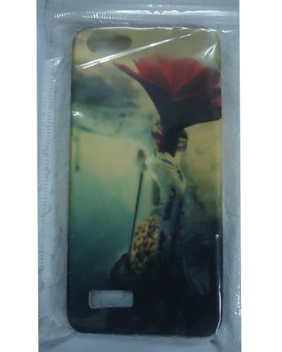 Micromax Canvas HUE AQ5000 Beautiful Flower Print Back Cover