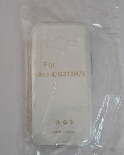 SAMSUNG G313H TRANSPARENT SILICON SOFT RUBBER BACK COVER