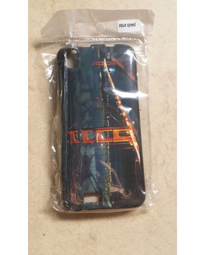 Intex Aqua Speed Designer  London Bridge At Night Print Back Case Cover