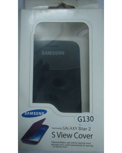 Samsung Galaxy Star 2 G130 Flip Cover Black