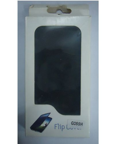 Samsung Galaxy Core 2 SM G355H Flip Cover Black