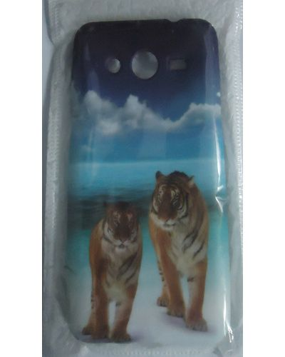 Samsung Galaxy Core 2 SM G355H Tigers Printed Back Cover