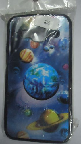 Samsung Galaxy Core Prime G360 3D Earth Space Planet Design Back Cover Case