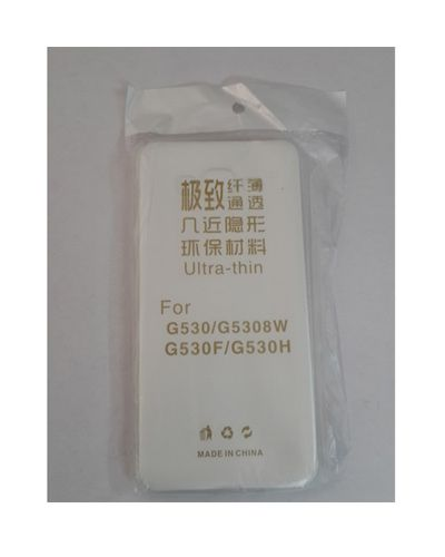 Samsung Galaxy G530H TRANSPARENT SILICON SOFT RUBBER BACK COVER