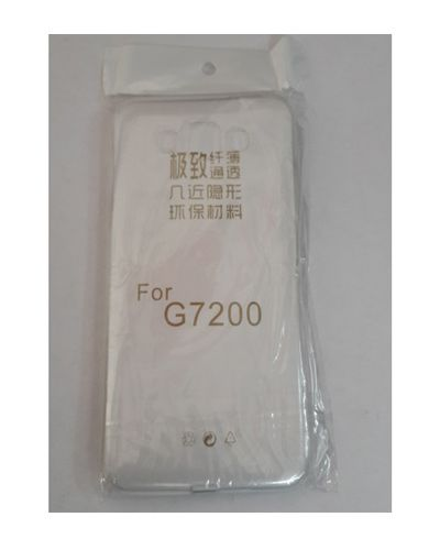 Samsung Galaxy G7200 TRANSPARENT SILICON SOFT RUBBER BACK COVER